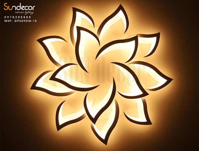 Đèn Mâm Ốp Trần Hiện Đại Led Trang Trí GP059DM-15