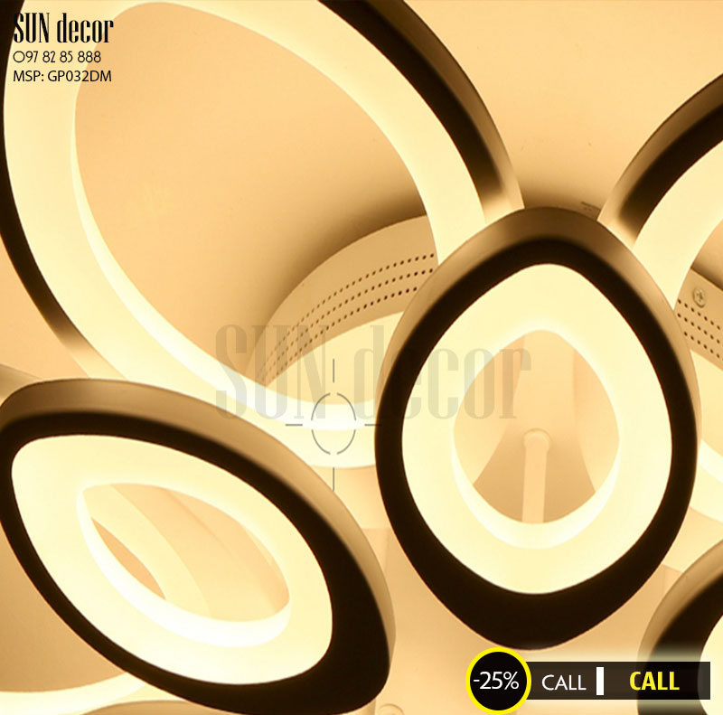 Đèn Mâm Ốp Trần Hiện Đại Led Trang Trí GP032DM