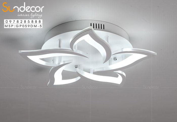 Đèn Mâm Ốp Trần Hiện Đại GP059DM-5