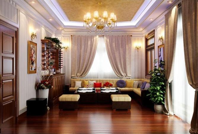 Kinh nghiệm lựa chọn đèn chùm phù hợp với không gian phòng khách đẹp