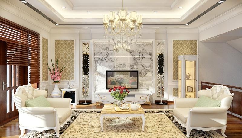 Mách bạn cách chọn đèn chùm trang trí hiện đại cho phòng khách
