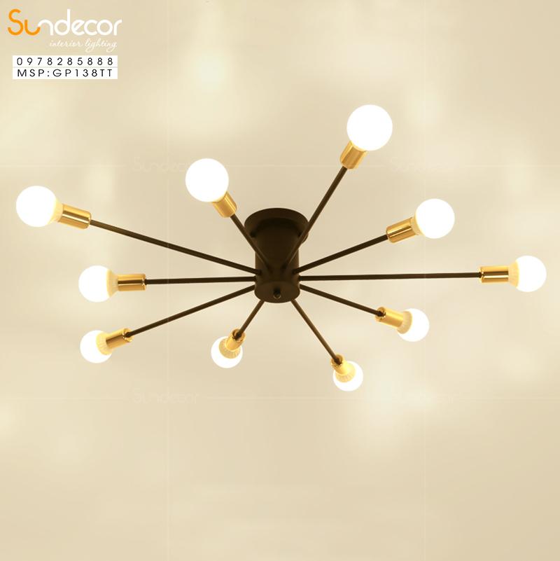 Lợi ích khi sử dụng đèn chùm phòng khách chung cư
